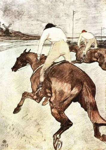The Jockey By Henri De Toulouse Lautrec