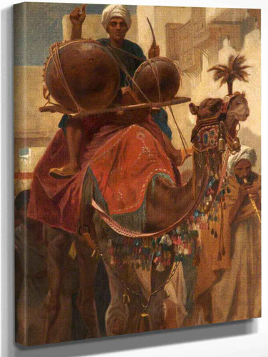 The Marriage Procession By Frederick Goodall