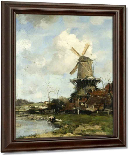 The Mill By Jacob Henricus Maris