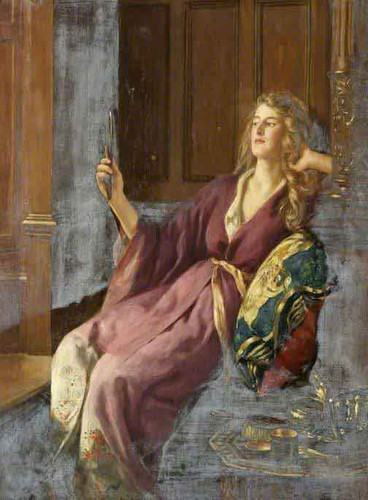 The Minx By John Maler Collier