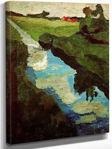 The Moor By Paula Modersohn Becker