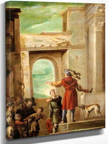 The Parable Of The Feast Without Guests By Domenico Fetti