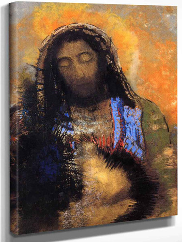 The Sacred Heart By Odilon Redon