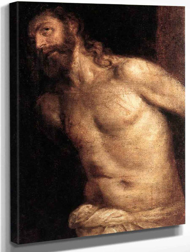 The Scourging Of Christ By Titian