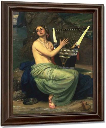 The Siren By Sir Edward John Poynter Oil on Canvas Reproduction