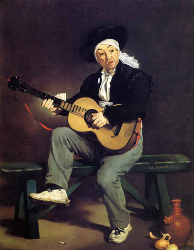 The Spanish Singer By Edouard Manet By Edouard Manet