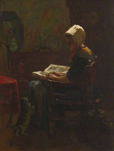 The Student By Jacob Henricus Maris