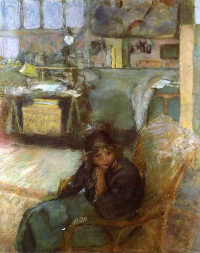 The Studio By Edouard Vuillard