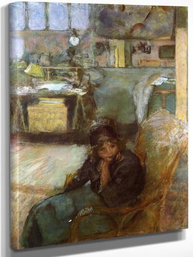 The Studio By Edouard Vuillard