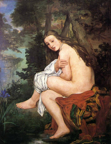 The Surprised Nymph By Edouard Manet By Edouard Manet