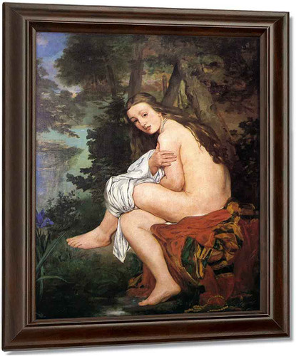 The Surprised Nymph By Edouard Manet