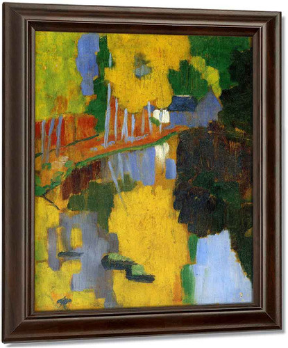 The Talisman By Paul Serusier Oil on Canvas Reproduction
