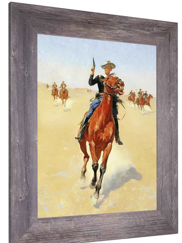 The Trooper by Frederic Remington