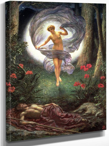 The Visions Of Endymion By Sir Edward John Poynter