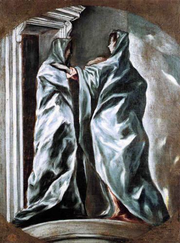 The Visitation By El Greco By El Greco