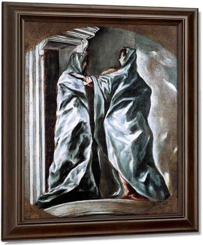 The Visitation By El Greco