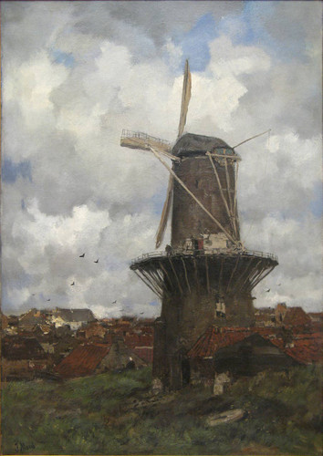 The Windmill By Jacob Henricus Maris