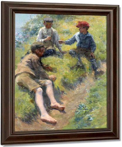 Three Boys By Harold Harvey
