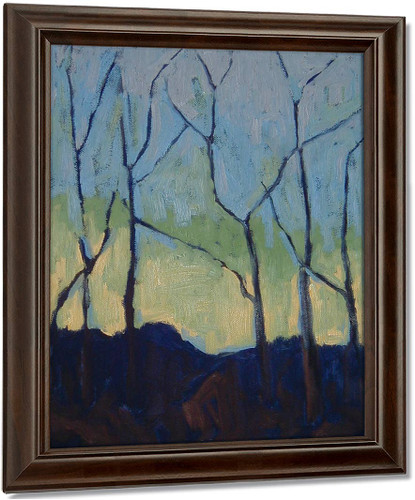 Trees By Paul Serusier Oil on Canvas Reproduction
