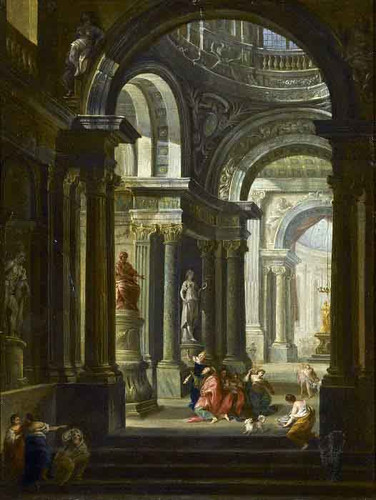 Untitled By Giovanni Paolo Panini By Giovanni Paolo Panini
