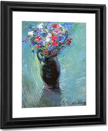 Vase Of Flowers1 By Nicolas Tarkhoff