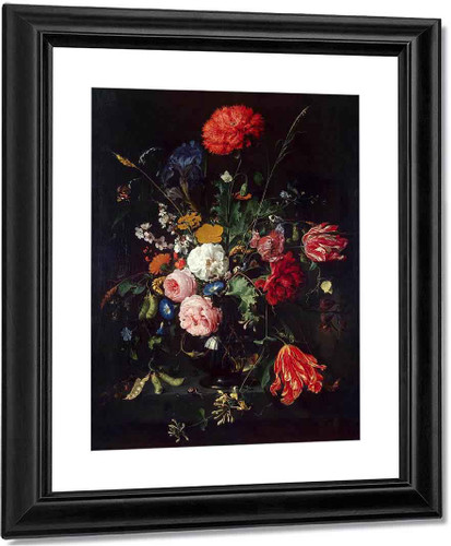 Vase Of Flowers By Jan Davidszoon De Heem By Jan Davidszoon De Heem