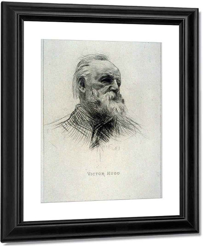 Victor Hugo (Three Quarters View) By Auguste Rodin(French, 1840 1917)