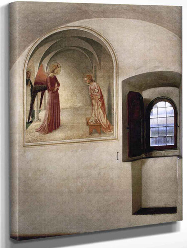 View Of A Cell By Fra Angelico
