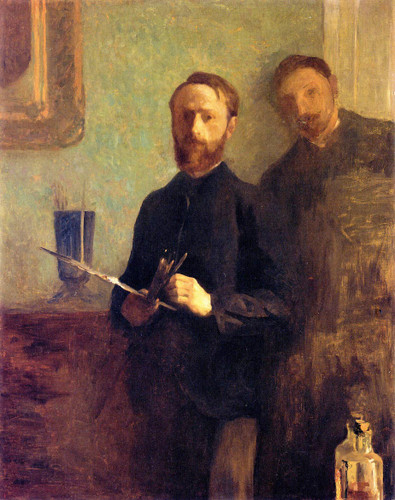 Vuillard And Waroquy By Edouard Vuillard