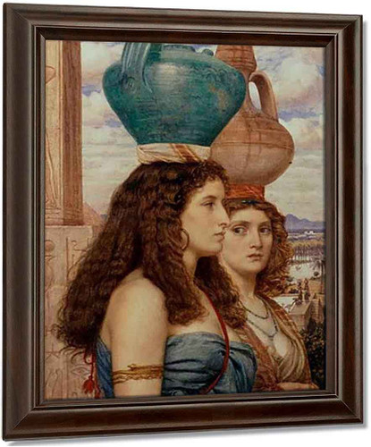 Water Carriers By Sir Edward John Poynter Oil on Canvas Reproduction
