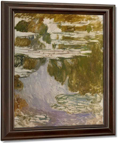 Water Lilies (Study) By Claude Oscar Monet(French, 1840 1926)