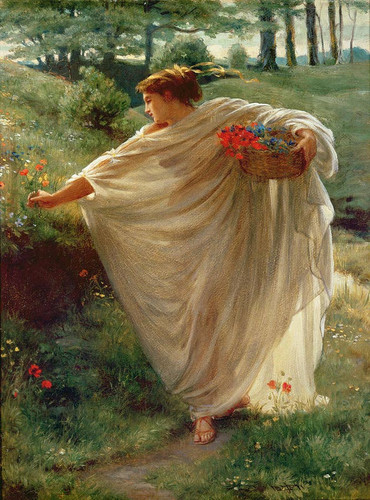 Wild Blossoms By Sir Edward John Poynter