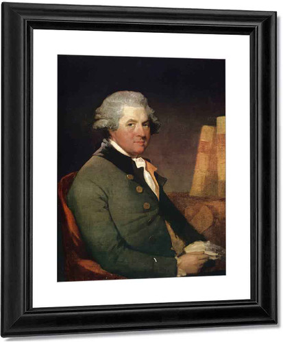 William Burton Coyngham By Gilbert Stuart