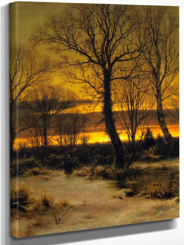 Winter By Louis Remy Mignot