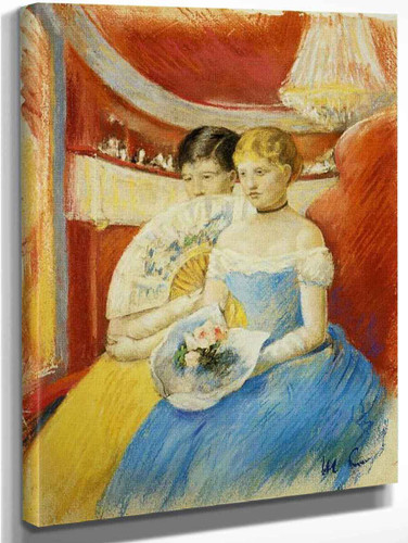 Women In A Loge By Mary Cassatt