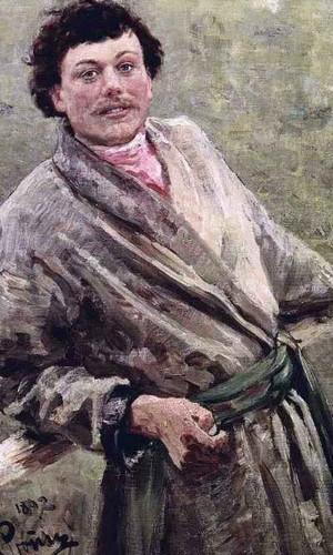 A Belorussian. Portrait Of Sidor Shavrov. By Ilia Efimovich Repin By Ilia Efimovich Repin