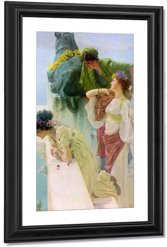 A Coign Of Vantage By Sir Lawrence Alma Tadema
