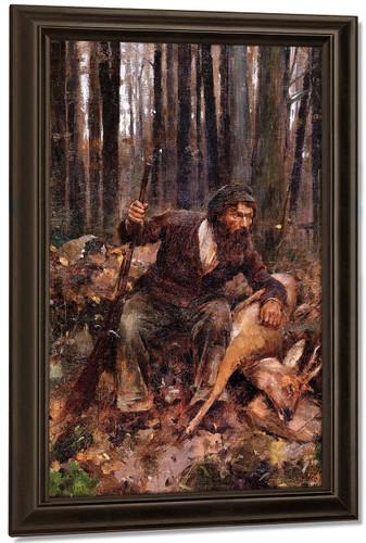 A Poacher By Theodore Robinson