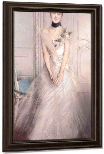 A Portrait Of Emiliana Concha De Ossa By Giovanni Boldini