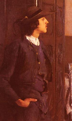 A Young Breton Man By Pascal Dagnan Bouveret