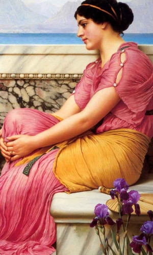 Absence Makes The Heart Grow Fonder By John William Godward By John William Godward