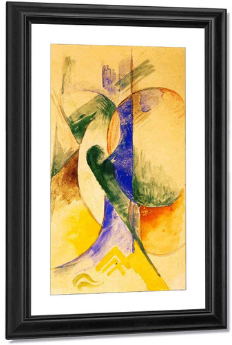 Abstract Composition By Franz Marc By Franz Marc