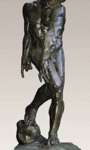 Adam By Auguste Rodin