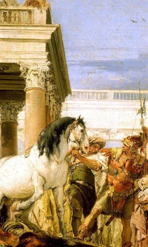 Alexander And Bucephalus By Giovanni Battista Tiepolo