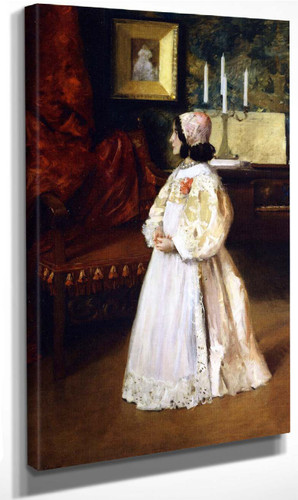 Alice Dieudonnee Chase By William Merritt Chase