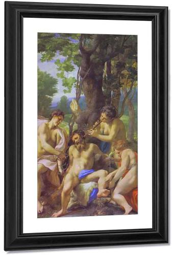 Allegory Of The Vices By Correggio