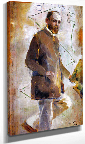 An Impressionist By Charles Conder By Charles Conder