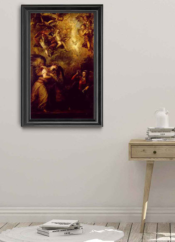 Annunciation 1 By Titian