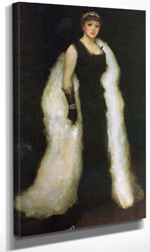 Arrangement In Black, No.5 Lady Meux By James Abbott Mcneill Whistler Art Reproduction
