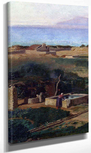 Bordighera, Italy By Elihu Vedder Art Reproduction
